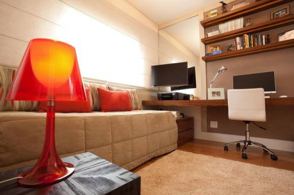 Móveis multiuso home office abajur sofa