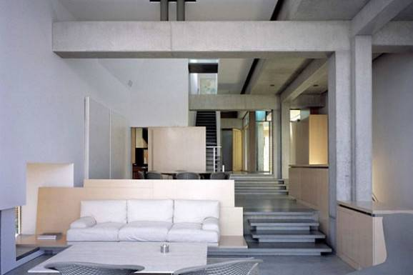 piscina no teto sala