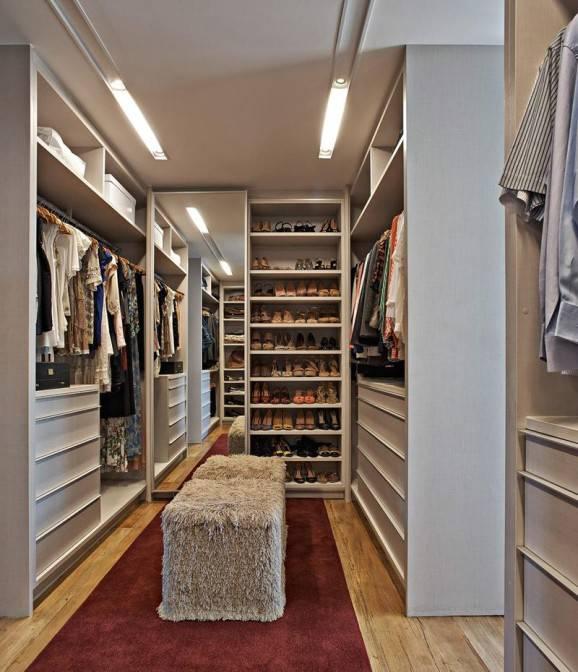 como organizar o seu quarto closet