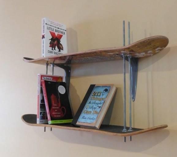 Como fazer prateleiras de skate