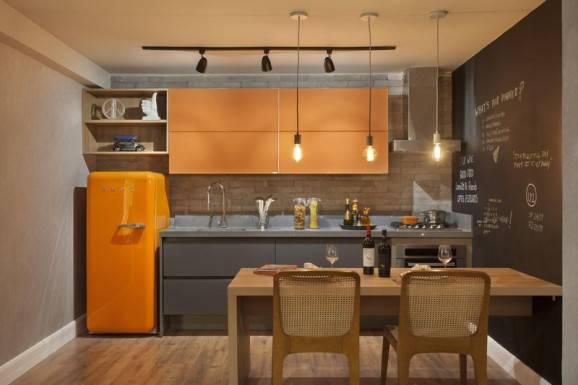 dicas para cozinha retro laranja