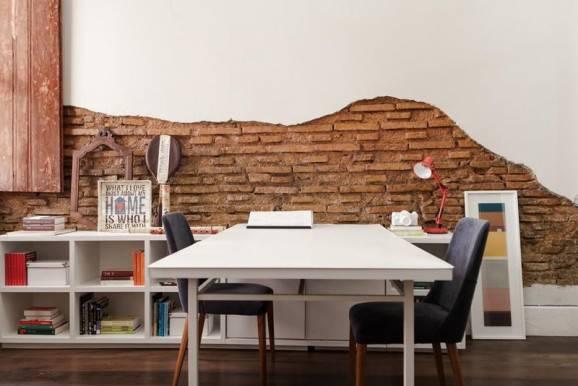 dicas de como montar um home office tijolinho