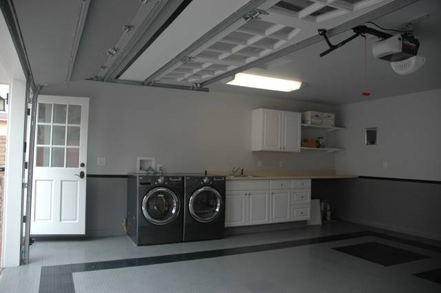 garagem lavanderia