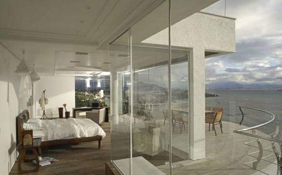 Dicas criativas para quartos quarto grande com  sacada