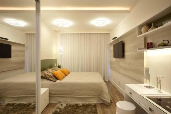 Dicas criativas para quartos quarto de casal grande