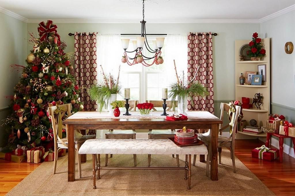 Decora o de natal em 3 estilos pra voc escolher for O que significa dining room em portugues