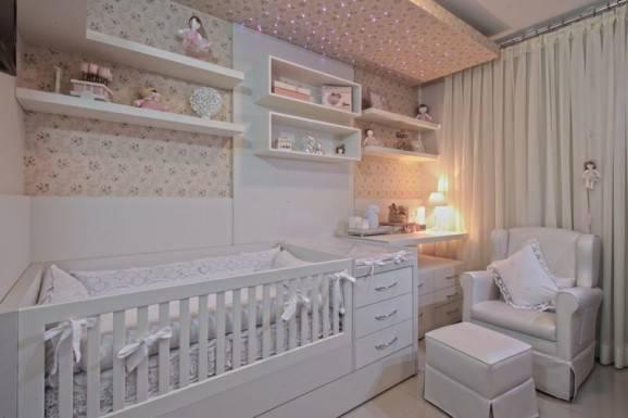 decorar quarto de bebê led berço