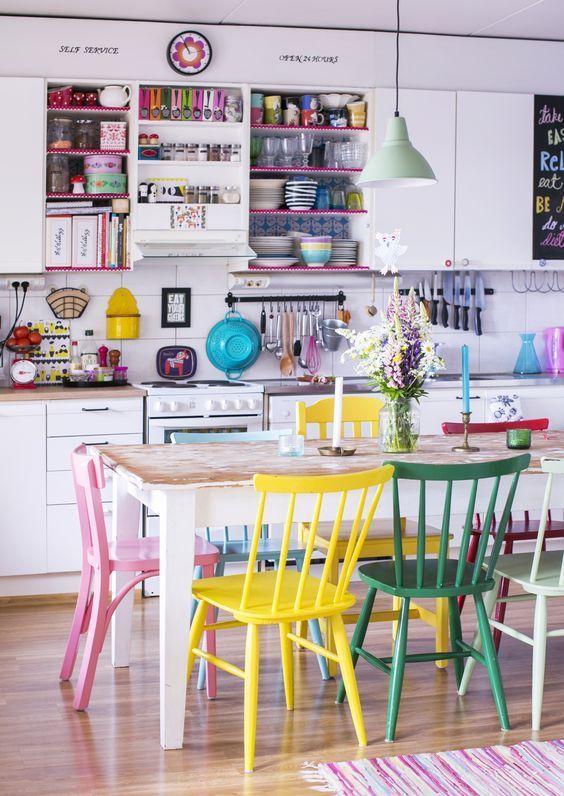 Reforma de cadeira para cadeiras da cozinha