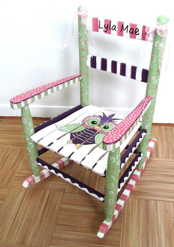 Reforma de cadeira de balanco