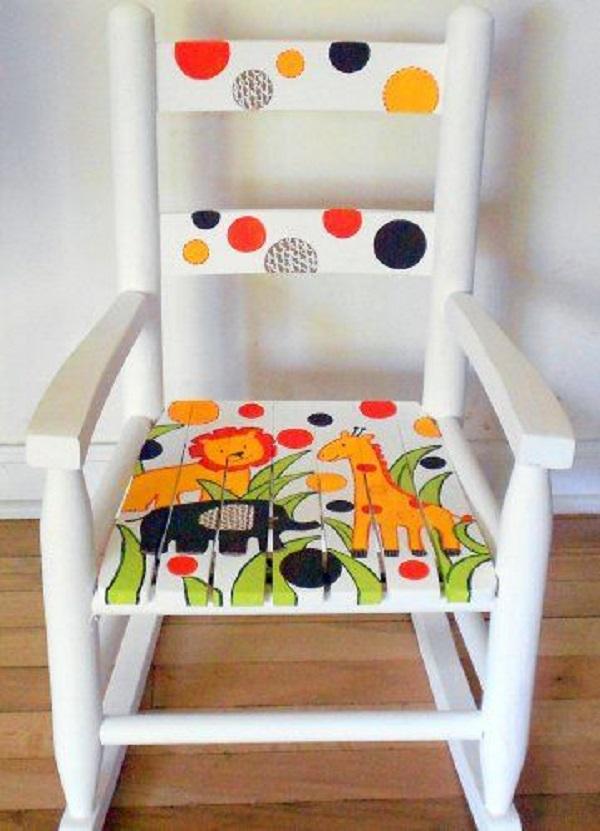 Reforma de cadeira infantil