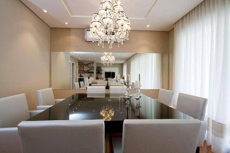 Como Colocar Adesivo De Joia Na Unha ~ Espelhos na decoraç u00e3o da Sala de Jantar