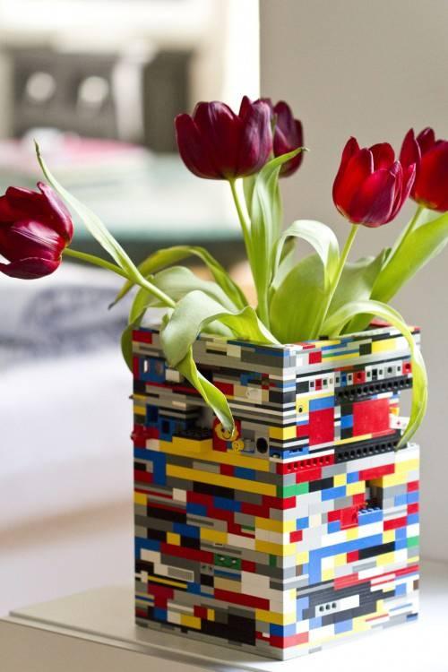 faça você mesmo Decoração com Lego
