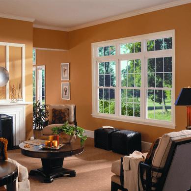Grades para janelas na sala