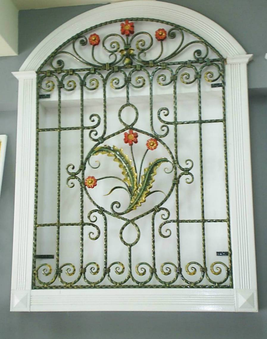 Window-Grill-Design-40 Grades para janelas com flores