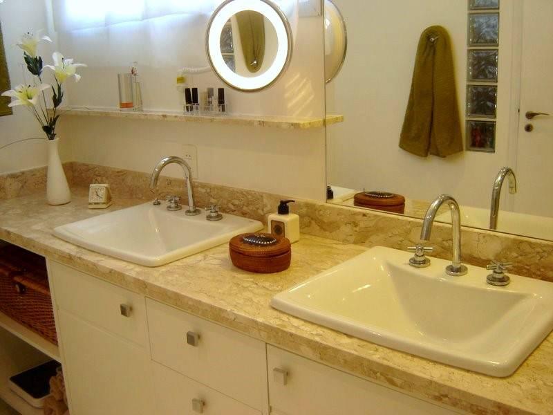 Decoração de pias de banheiros -> Altura De Pia De Banheiro