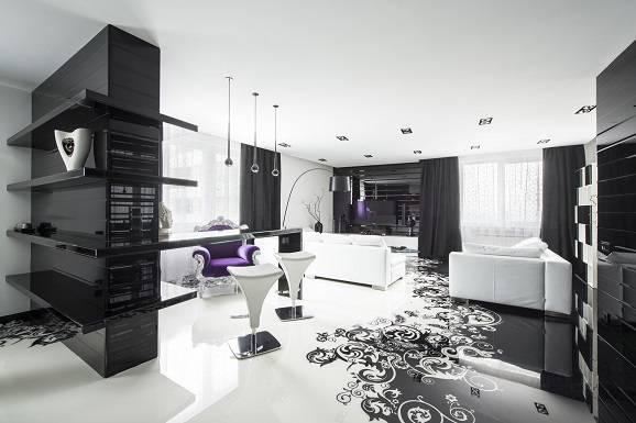Como_decorar_Guia_de_estilos_de_decoracao_Viva_Decora_Dicas_de_com _combinar_o_preto_e_branco_na_decoração