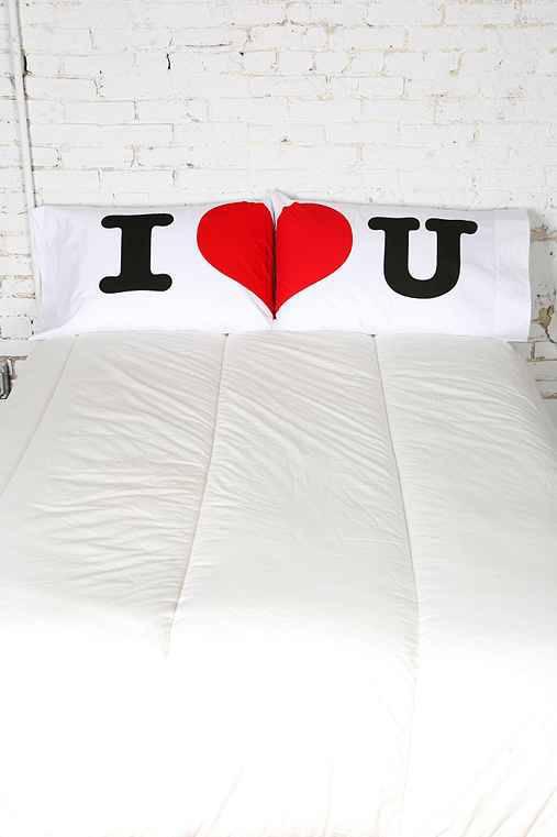 fronha de casal i love u