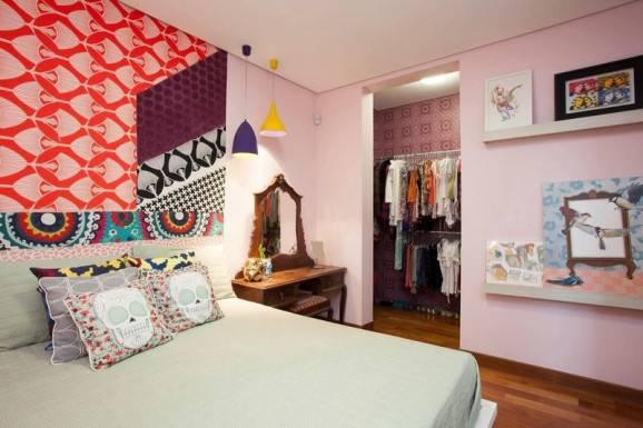 papel de parede e adesivo quarto almofadas de caveira