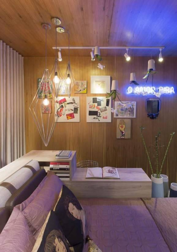 papel de parede e adesivos luminárias almofadas