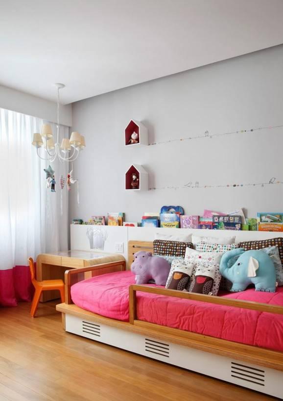 como  decorar quarto  infantil rosa menina
