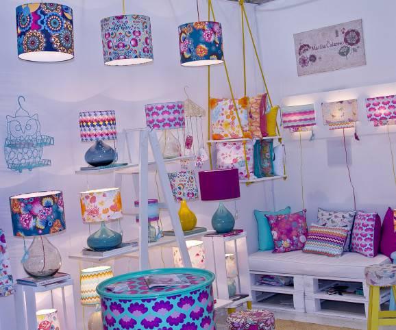 luminarias  e almofadas craft design