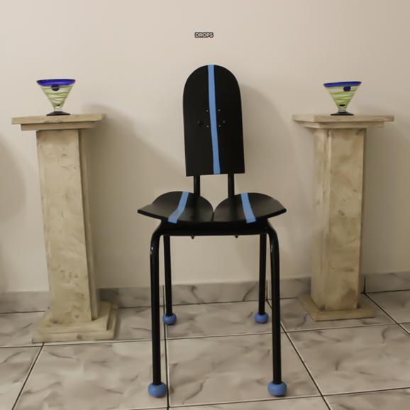 Decoração de madeira: Cadeira de Skate
