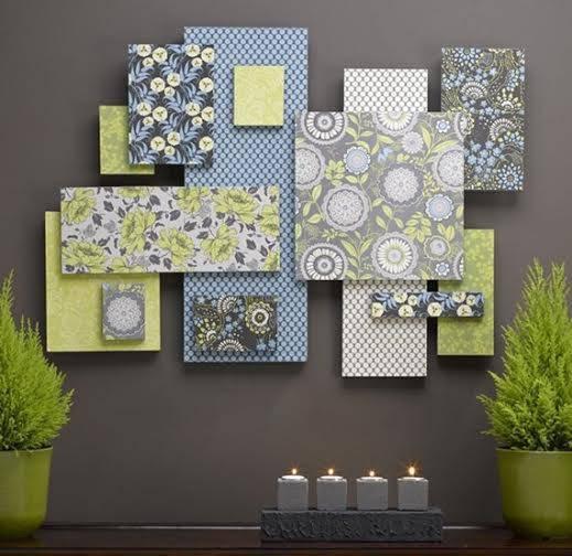 quadros tecido para decoração