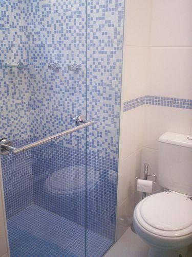 Piso de pastilha para banheiro