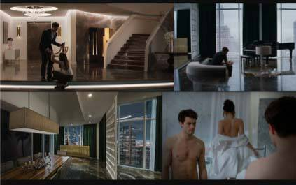 apartamento decorado de Christian Grey