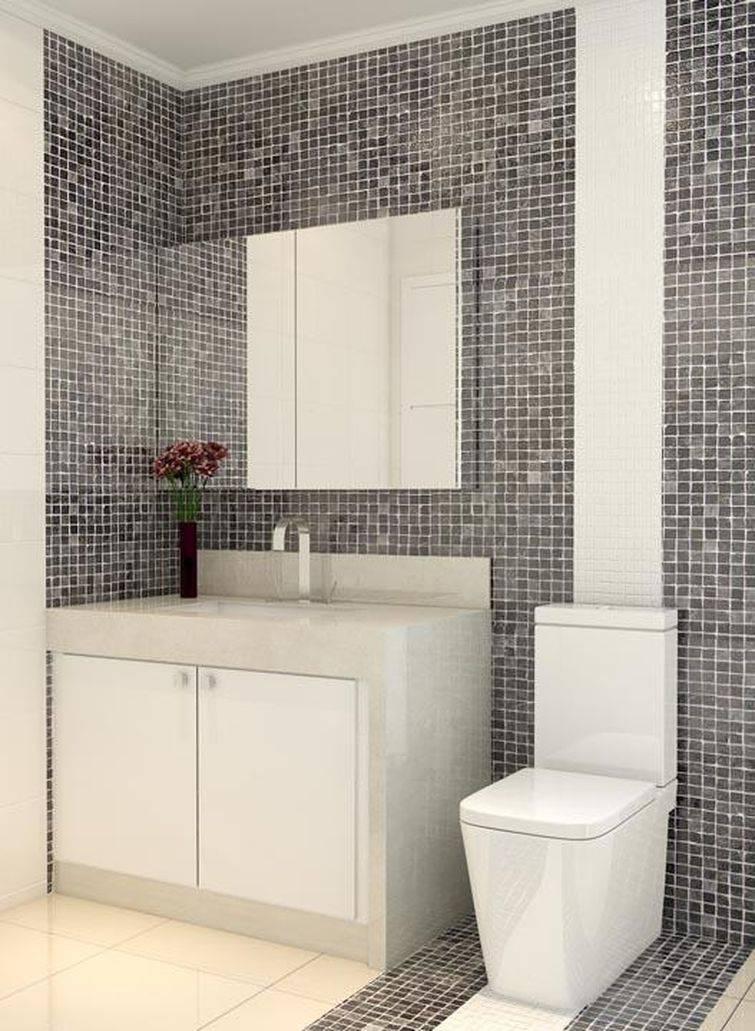 35 Banheiros Pequenos com Dicas e Inspirações para Você -> Dicas Para Desentupir Pia De Banheiro
