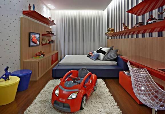 quarto de menino montessoriano