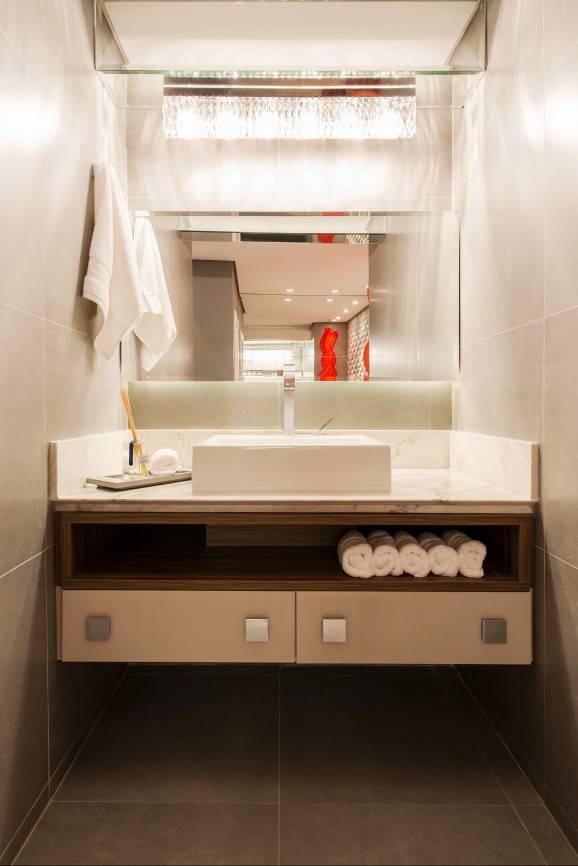 modelo de banheiro pia