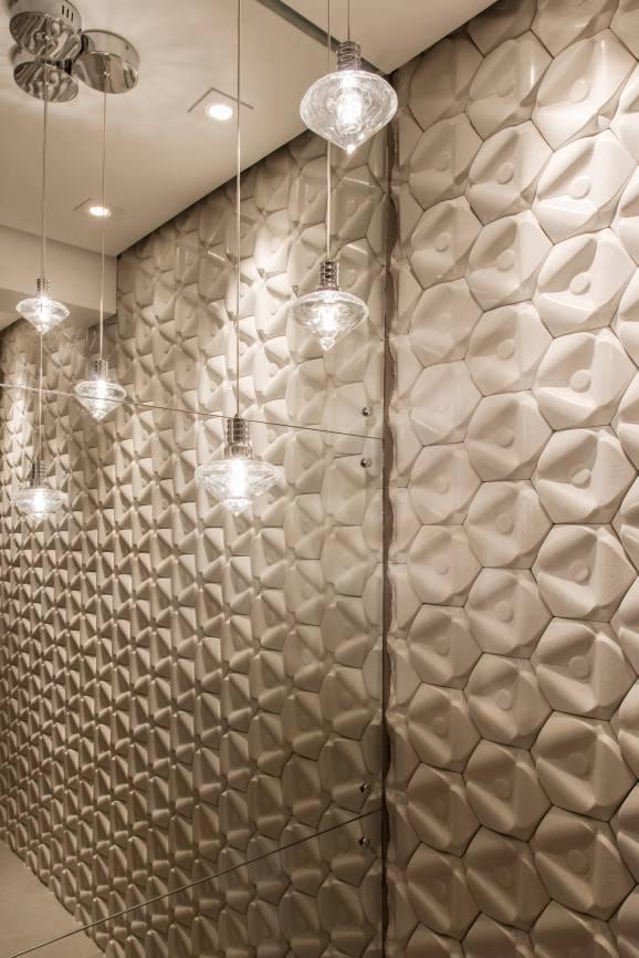 modelo de banheiro luminarias