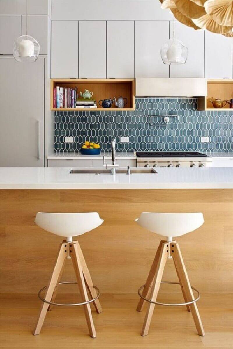 Revestimento para cozinha geométrico