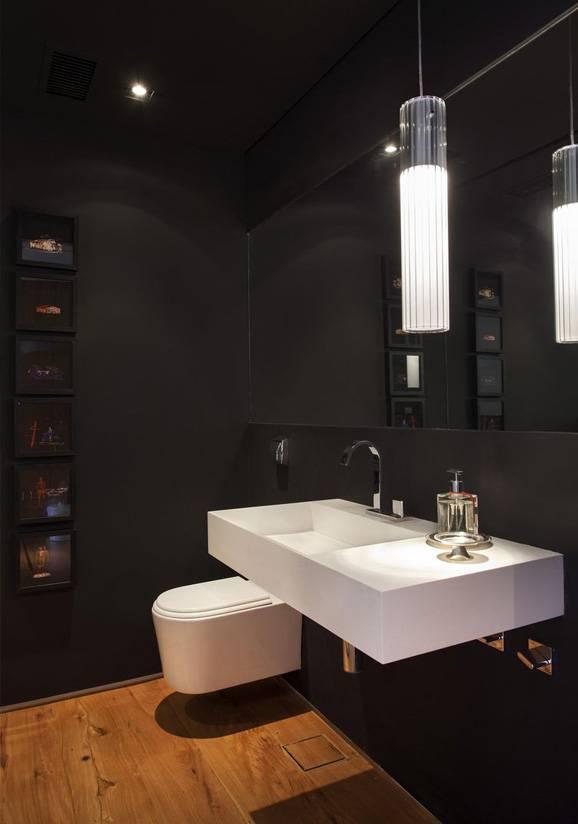 Banheiros simples podem guardar bons segredos de decoração -> Banheiros Bem Simples