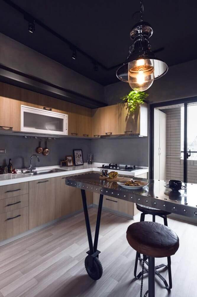 cimento queimado revestimento para cozinha