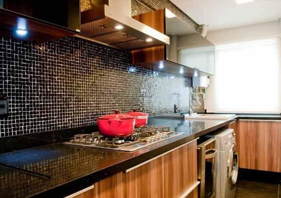 Como decorar cozinhas planejadas pequenas