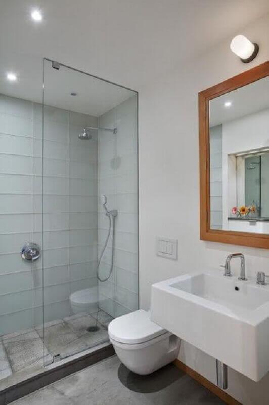 decoração simples para banheiro simples Foto Ivango