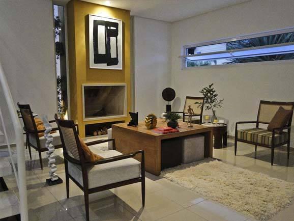 Lareira para apartamento