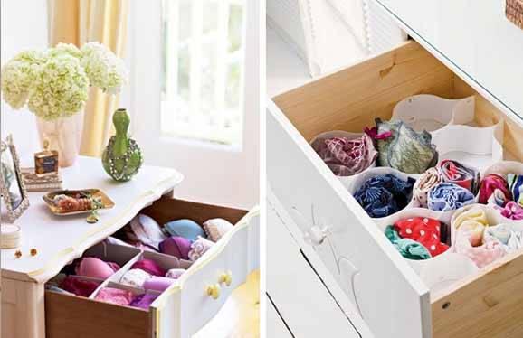 Como organizar um guarda-roupa