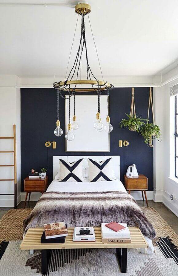lustres para quarto com design arrojado e moderno