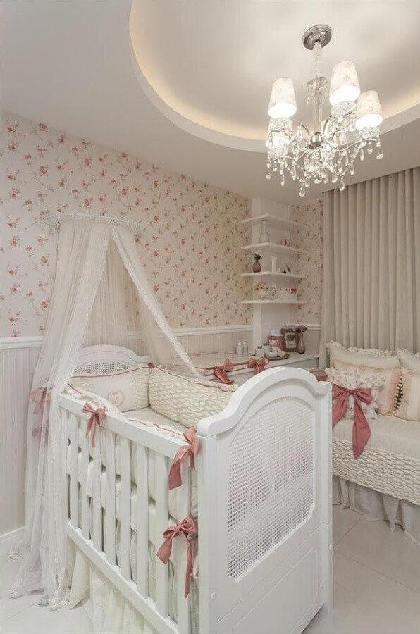 lustres para quarto de bebê feminino