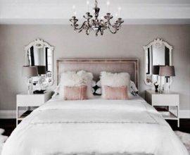 lustres para quarto de casal decorado