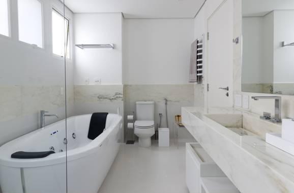 Banheiro de luxo conforto e relaxamento dentro de casa -> Cuba Para Banheiro Luxo