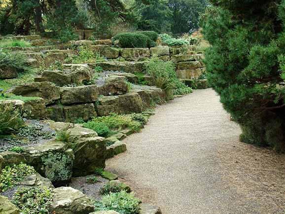 Pedras para jardim, paisagismo além das plantas