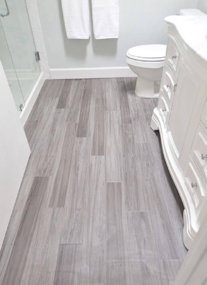 piso vinílico para banheiro