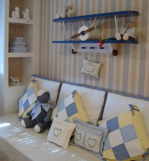 quartos de bebê decorados