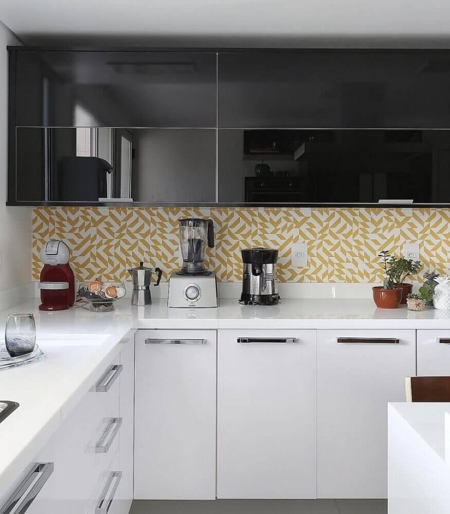 revestimento colorido para cozinha