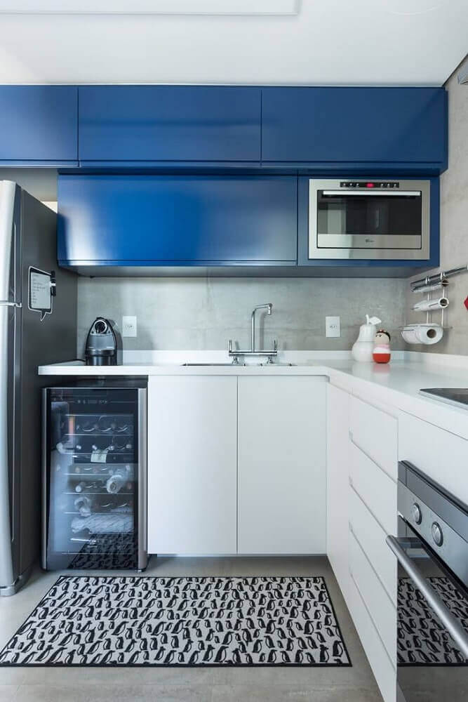 revestimento para cozinha com cimento queimado