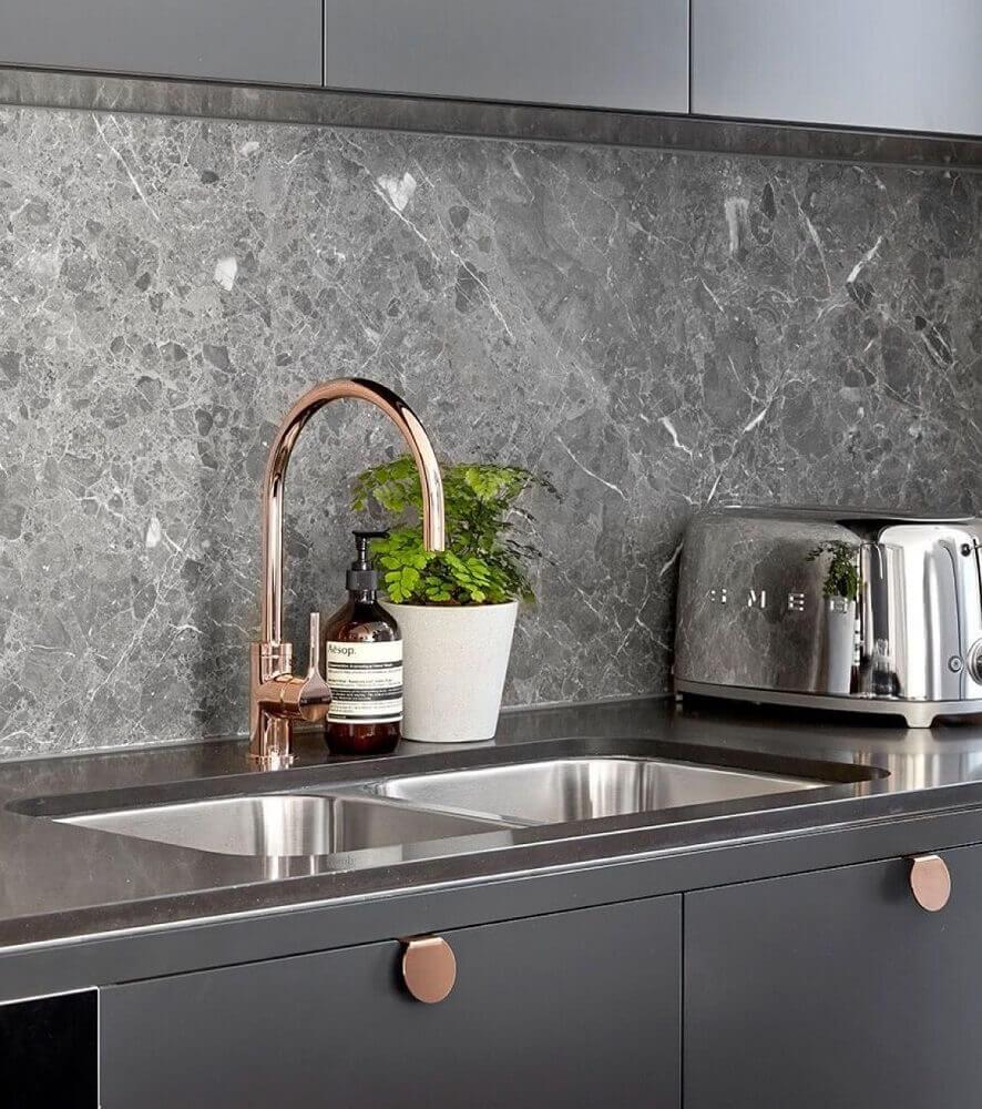 revestimento para cozinha de pedra